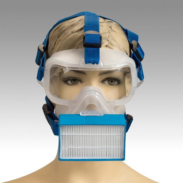 ViriMask BLUE Frontal WEB