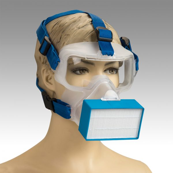 ViriMask BLUE Sideways WEB